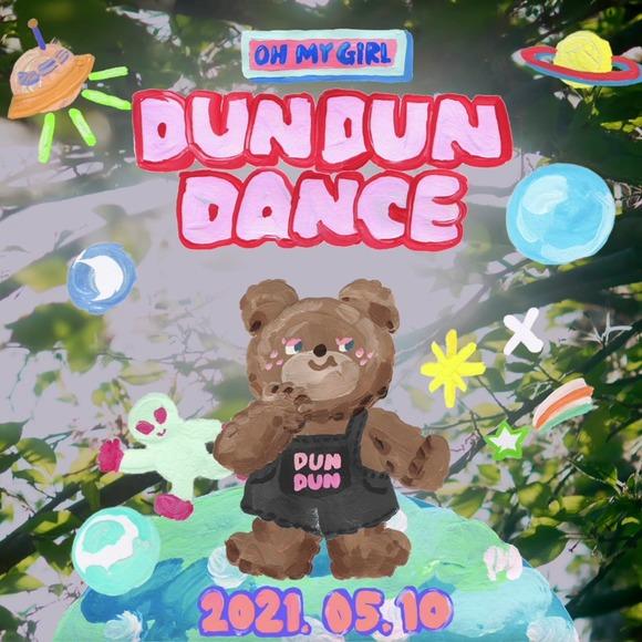 오마이걸이 오는 5월 10일 컴백을 알리는 티저 영상을 공개했다. 앨범 제목은 Dear OHMYGIRL이고 타이틀곡은 DUN DUN DANCE다. /WM엔터 제공