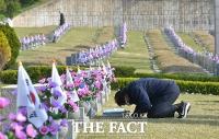 4.19 혁명 61주년, 묘지 참배하는 시민들 [TF사진관]