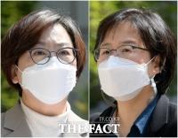 '위안부 2차 손배소 패소' 각각 입장 밝히는 정의연과 변호사 [TF사진관]