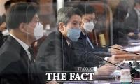 지자체 남북교류협력 정책협의회 참석해 격려사 하는 이인영 통일부 장관 [TF사진관]