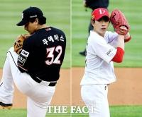 쿠에바스-오원석, 'KT vs SSG 뜨거운 선발대결' [TF사진관]