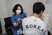 '2020 도쿄올림픽' 위해 백신 접종하는 국가대표 [TF사진관]