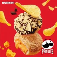 던킨, 이색 원재료 활용한 '프링글스 도넛' 2종 출시