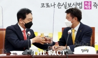 김기현 만난 여영국, '내로남불 아닌 언행일치' 정치 바란다 [TF사진관]