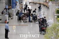 인천공항 도착한 인도 교민들 [포토]