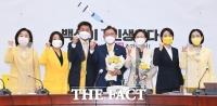 정의당 신임 원내대표로 추대된 배진교 의원 [TF사진관]