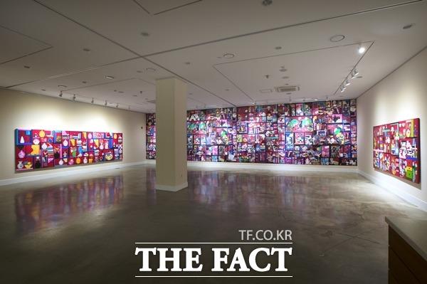 내달 6일까지 웃는얼굴아트센터 달서갤러리에 김민수 작가 작품을 전시하고 있다./웃는얼굴아트센터 제공