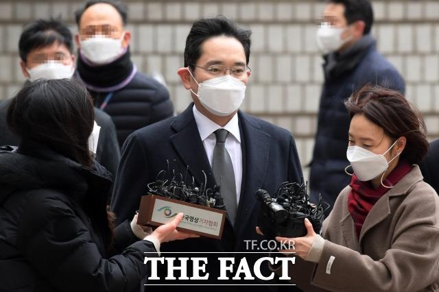 이재용(사진) 삼성전자 부회장 재판에서 이른바 프로젝트G 문건이 공개됐다. /남용희 기자