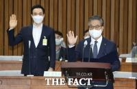 김부겸 청문회 증인 출석한 오익근 대신증권 대표이사 [TF사진관]