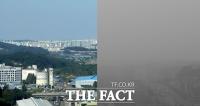 '흑백사진 아닙니다'…뿌옇게 뒤덮인 서울 [TF사진관]