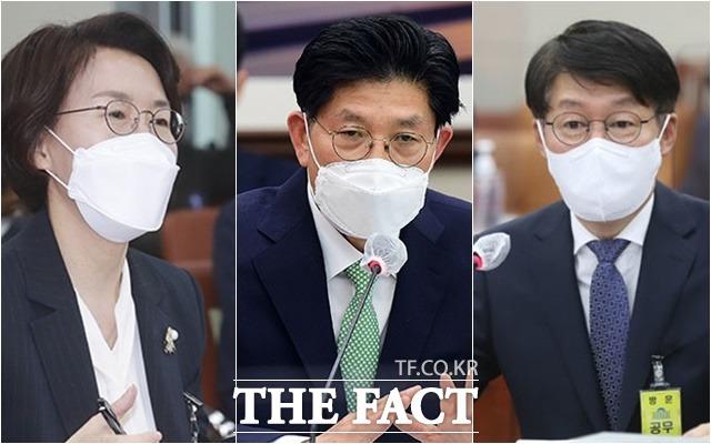 임혜숙 과학기술정보통신부 · 노형욱 국토교통부 · 박준영 해양수산부 장관 후보자/더팩트DB