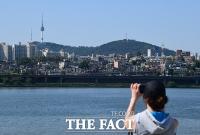 미세먼지 물러가자 찾아온 '초여름 더위' [TF사진관]