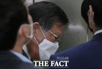 영장실질심사 출석한 박삼구 전 금호아시아나그룹 회장 [TF사진관]