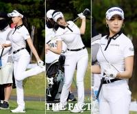 유현주, '올 화이트 패션으로 시선 집중' [TF사진관]