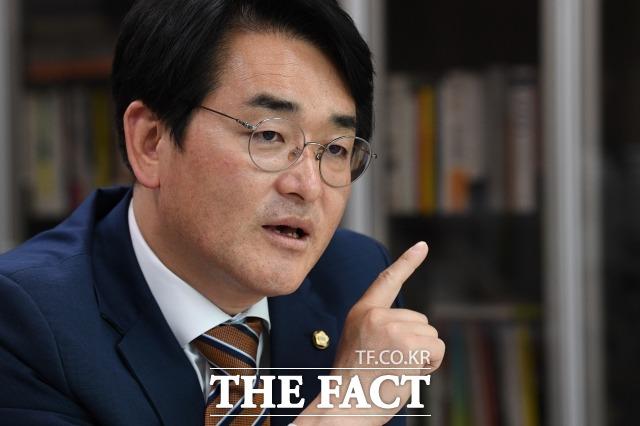 박 의원은 대권주자로 언급되는 윤석열 전 검찰총장과 이재명 경기지사 등이 조속히 대선 출마를 선언해 국민의 검증을 받아야 한다고 촉구했다. /남윤호 기자