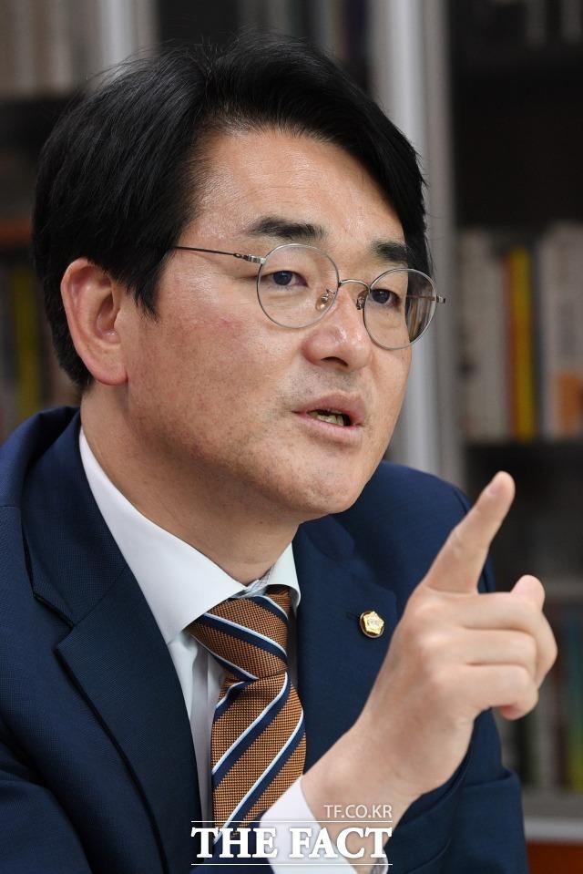 박 의원은 청년들을 국가 수혜의 대상으로 보지 말고, 국민의 자산 형성 제도를 국가가 마련해줘야 한다고 강조했다. /남윤호 기자