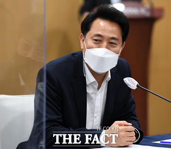 오세훈 서울시장이 도시재생 사업을 축소하고 재개발·재건축을 활성화하겠다는 정책 구상을 밝혔다./임세준 기자