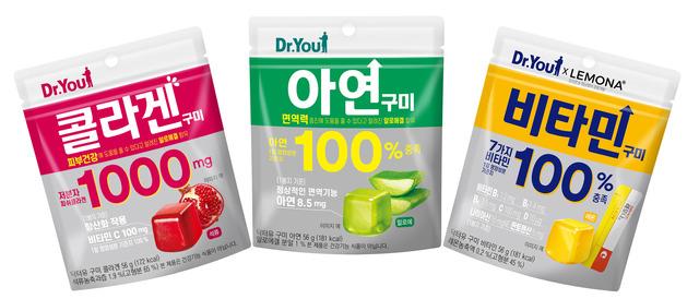 오리온이 기능성을 표시한 일반식품 브랜드인 닥터유 구미를 출시한다. /오리온 제공