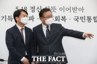 안철수 만난 김부겸 신임 국무총리 [TF사진관]