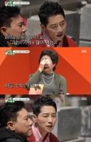 '미우새' 박군, 母 묘소 앞 오열…