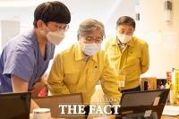'코로나 해외유입 막는다'...임시생활시설 점검 나선 정은경 청장 [TF사진관]