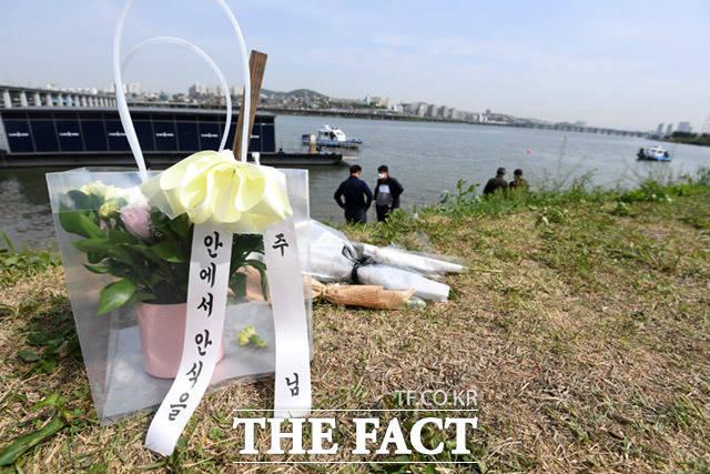 한강공원에서 숨진 채 발견된 고 손정민씨가 실종된 날 한강 물에 들어가는 한 남성을 봤다는 제보자가 나타나 경찰이 확인 중이다./임세준 기자
