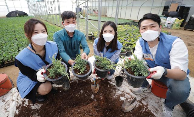 '화훼농가 돕자' KT&G, 지난해부터 임직원에 꽃 선물 이벤트 지..