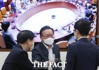 취임후 첫 국정현안점검조정회의 주재하는 김부겸 총리 [TF사진관]