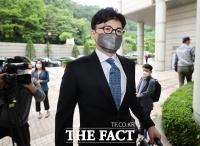 한동훈, '독직폭행' 정진웅 공판에 증인 출석 [TF사진관]