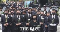 '그리움이 자라 희망이 된' 노무현 서거 12주기 추도식 [TF사진관]