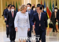 박병석, 러시아 상원의장 '백신 승인' 언급에 '협력' 강조