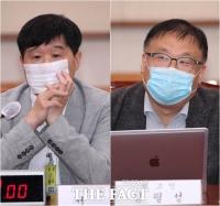 '증인 없는 김오수 청문회' 서민-김필성 참고인 출석 [TF사진관]