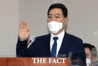 선서하는 김오수 검찰총장 후보자 [포토]
