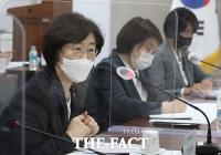 주요부처 양성평등정책 책임관 회의에서 발언하는 정영애 장관 [TF사진관]