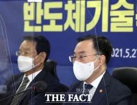 '반도체특위 2차 회의' 참석한 문승욱 [TF사진관]