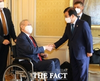 박병석, 체코 대통령에