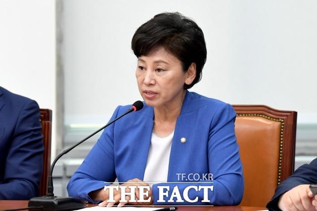 정치권에 진출한 여성계가 불신을 자처했다는 비판이 나온다. 남녀 모두가 공감할 수 있는 성평등 정책과 예산 지원을 위해 노력해야 한다. 2020년 6월 12일 최고위원회의에서 발언하는 남 의원. /이선화 기자