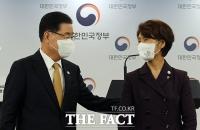 정의용-한정애, 'P4G 서울 정상회의 결과 합동브리핑' [TF사진관]