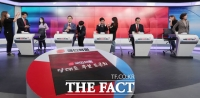 2차 방송토론 준비로 '분주한 국민의힘 대표 후보자들' [TF사진관]