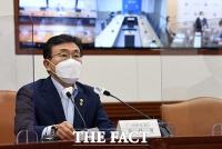 한미 백신 파트너십 지원 TF회의 주재하는 권덕철 장관 [TF사진관]