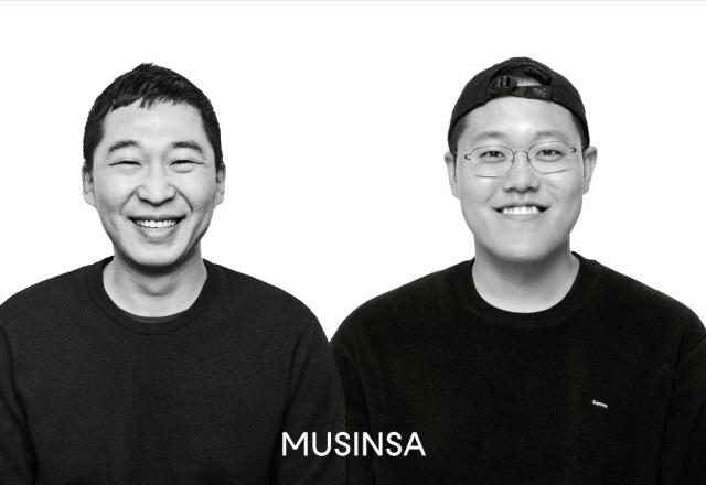 무신사가 강정구 공동대표(왼쪽)와 한문일 공동대표를 선임했다. /무신사 제공