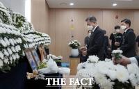 이 모 부사관 빈소에서 한 '정치권의 약속들' [TF사진관]