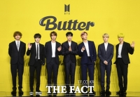방탄소년단 'Butter', 빌보드 '핫 100' 2주 연속 1위…통산 7번째