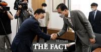 김오수 검찰총장, 이종엽 대한변협 회장 예방 [포토]