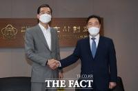 대한변호사협회 찾은 김오수 검찰총장 [포토]