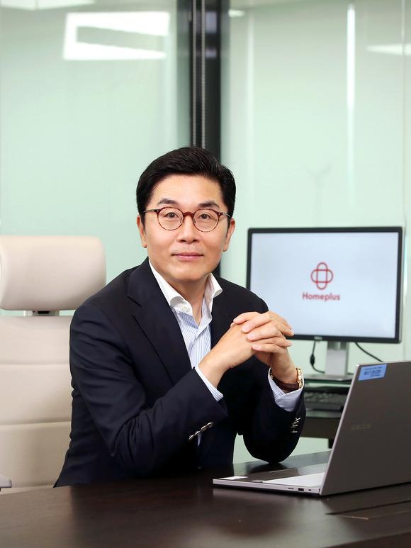 홈플러스는 9일 이제훈 대표이사가 한국체인스토어협회장으로 취임했다고 밝혔다. /홈플러스 제공
