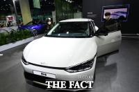 기아의 첫 전기차 EV6, 'xEV 트렌드 코리아 2021'에서 만나요[TF사진관]