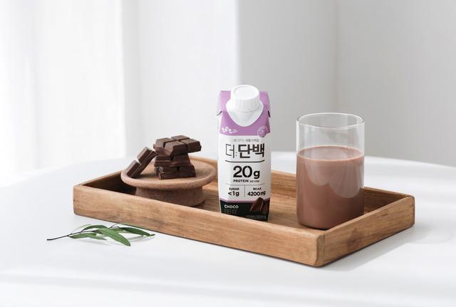 빙그레는 지난달 단백질 브랜드 더:단백을 론칭하고 단백질 시장에 진출했다. /빙그레 제공