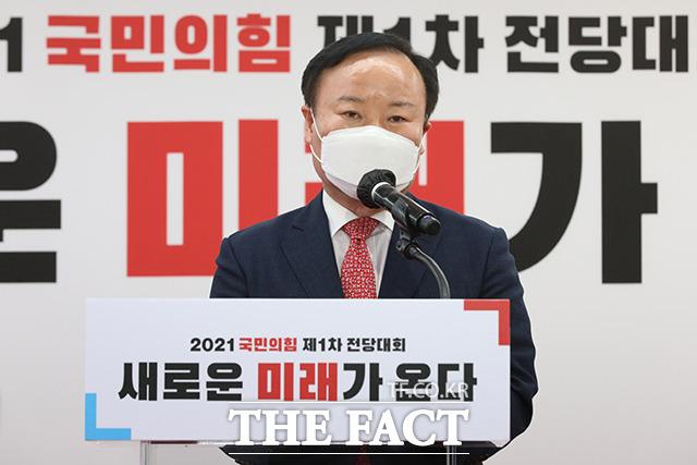 득표율 15.02%의 김재원 최고위원