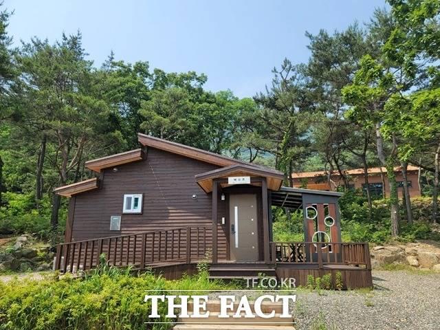 천안시 태학산 자연휴양림에 숙박시설 11동 추가 조성